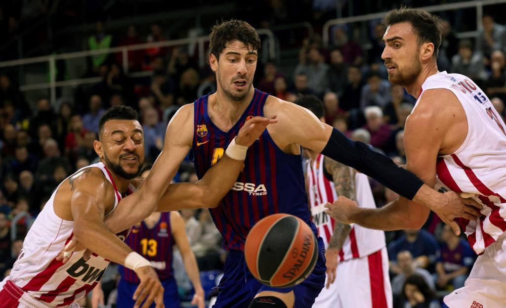 El Barcelona de Pesic, en caída libre