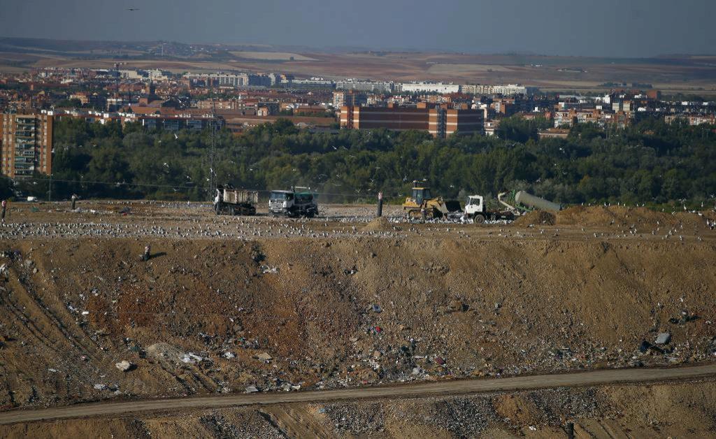 Vertedero de Alcalá de Henares, cuya vida útil acabará en 2019