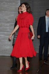 El vestido que ha estrenado en  la entrega de los Premios Nacionales...