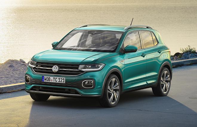 El T-Cross, el todocamino compacto de Volkswagen.
