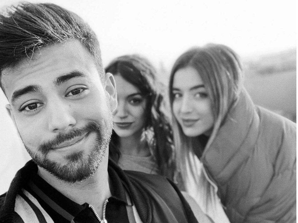 Agoney, Ana Guerra y Lola Indigo