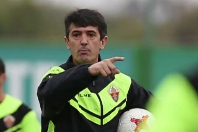 El entrenador del Elche, Pacheta.