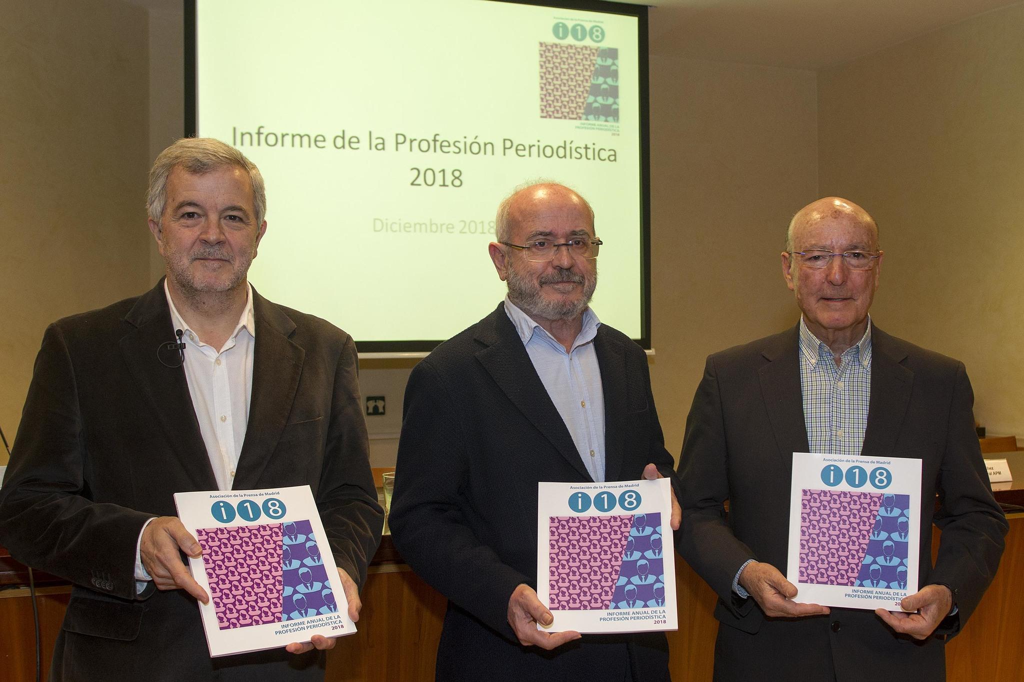 De izquierda a derecha, Luis Palacio, Alfonso Sánchez y David Corral.