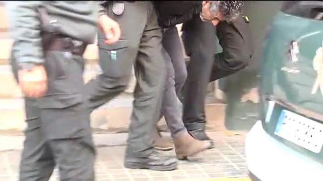 La Guardia Civil lleva a Bernardo Montoya a la reconstrucción de los...