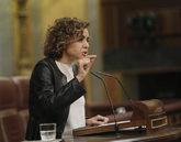 Dolors Montserrat, portavoz del PP en el Congreso, durante el pleno de...