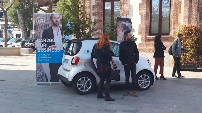 El Smart fortwo con el que Car2Go presta servicio en Madrid