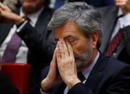 El presidente del Supremo, Carlos Lesmes.