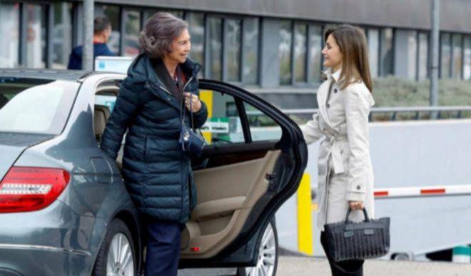La Reina Letizia, Doña Sofía, y la Princesa Leonor: encontronazo 'real' con final feliz