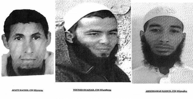 Tres de los cuatro detenidos por la muerte de dos turistas nórdicas en Marruecos.