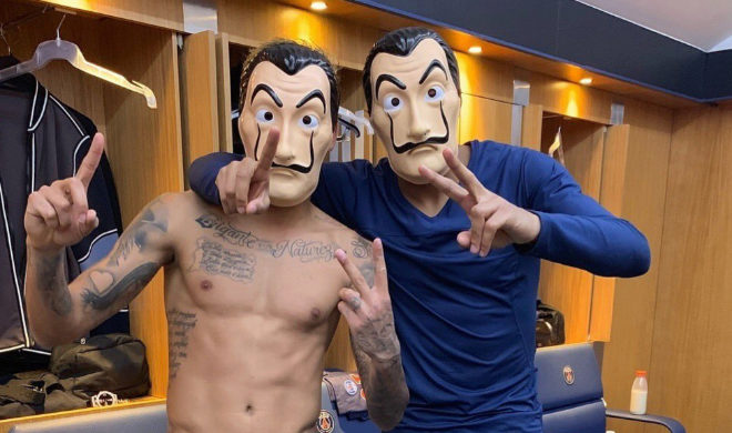 French mask changing room