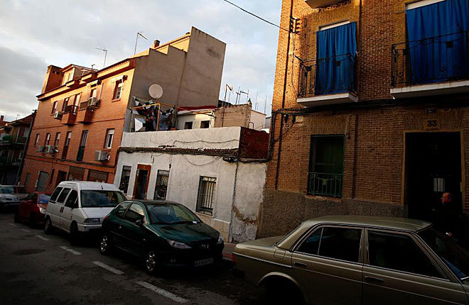 Otra vivienda ocupada en Puente de Vallecas.