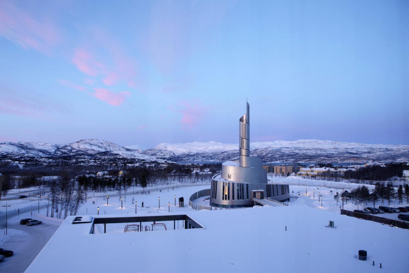 Concluida en 2013, la Catedral de las Luces del...