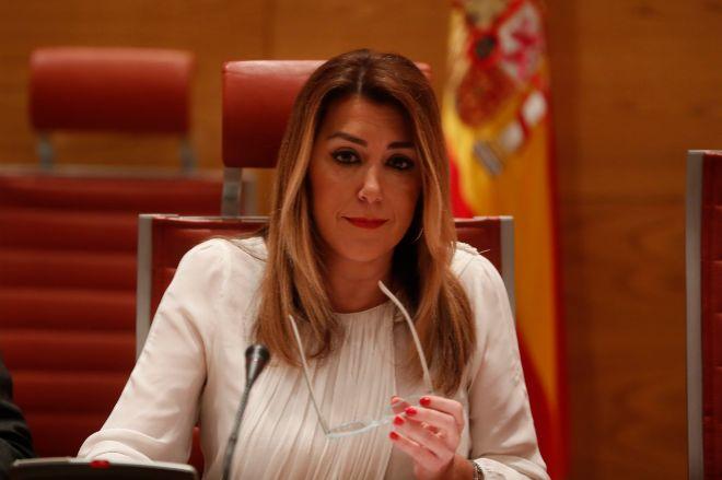 Susana Díaz, en el Congreso de los diputados.