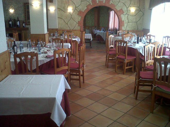 Interior del 'Restaurante La Villa' en Novelda.