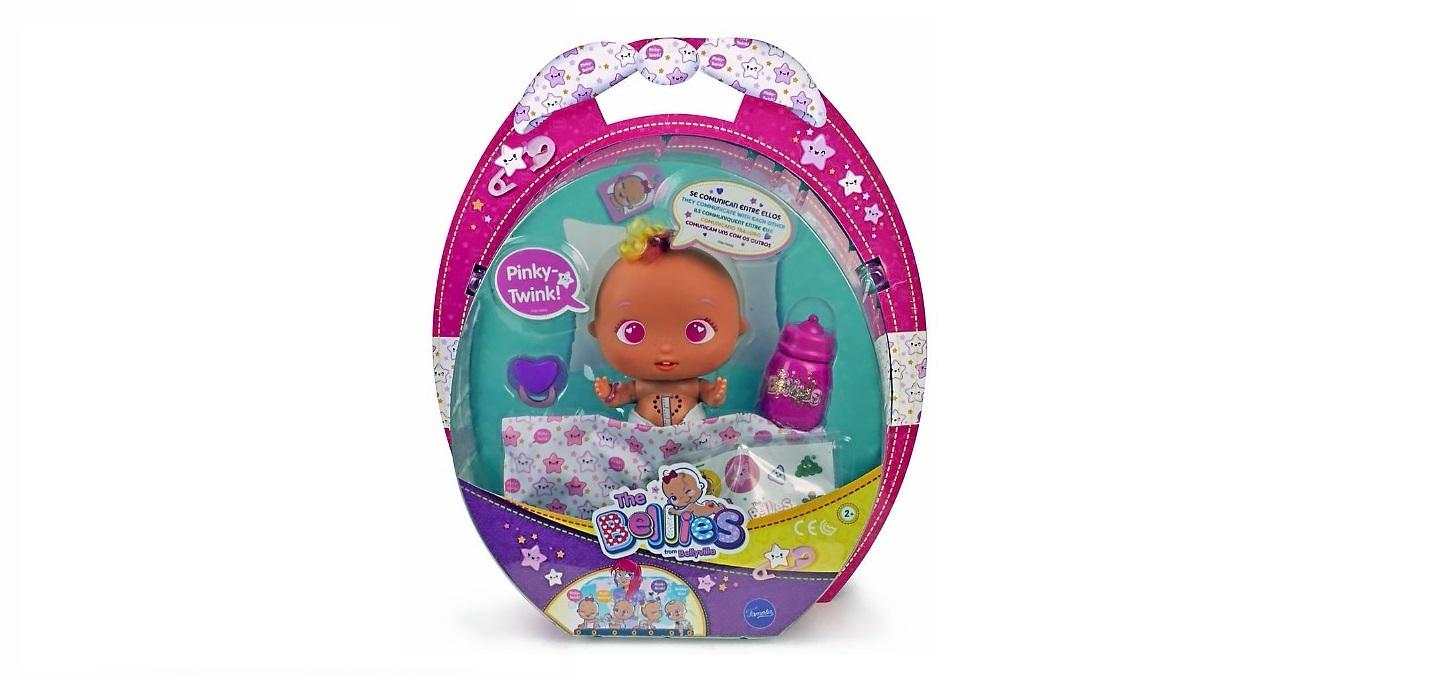 Los Bellies son muñecos interactivos con una estética que difiere a la de de un bebé real