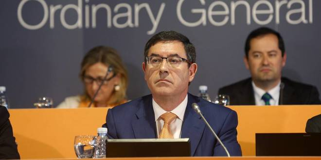 El presidente de Euskaltel, Alberto García Erauzkin.