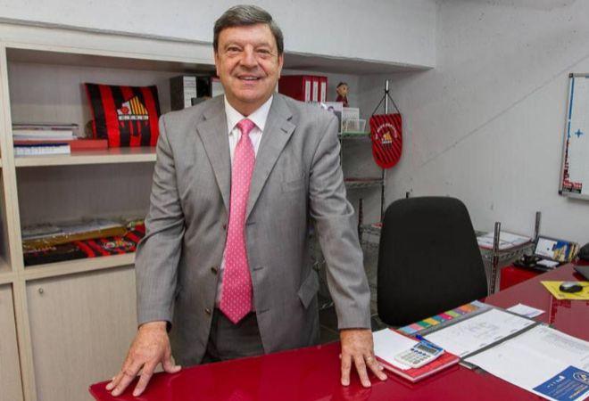 Xavier Llastarri, presidente del Reus.
