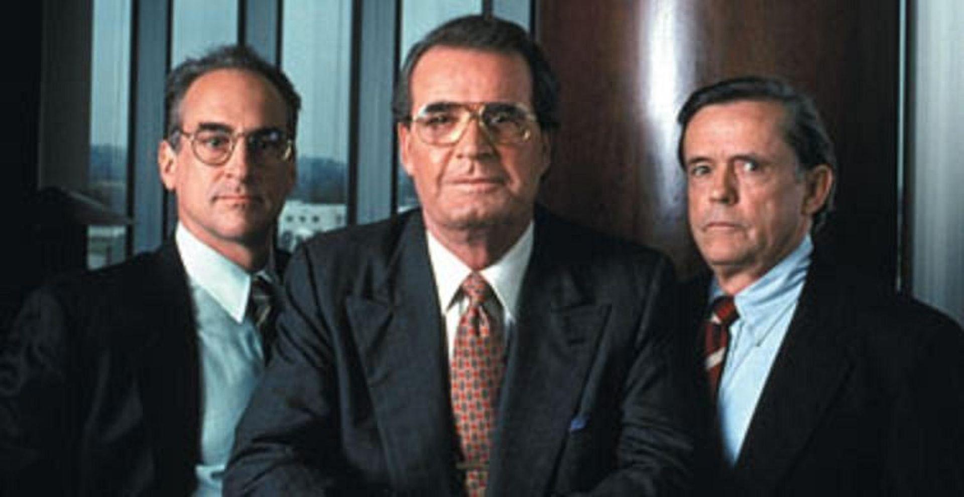 Una imagen de 'Pánico en Wall Street', protagonizada por Thomas Del Ruth (en el centro).