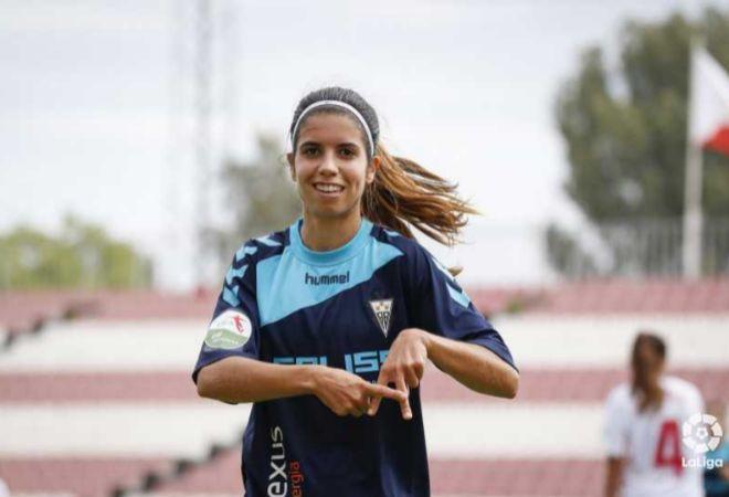 Alba Redondo, jugadora del Fundación Albacete.