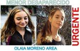 Fotografías de Olaia Moreno difundidas por la Guardia Civil para...