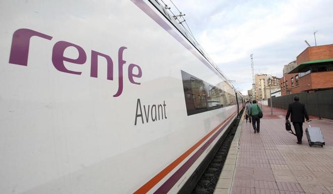 Un tren Avant Renfe.