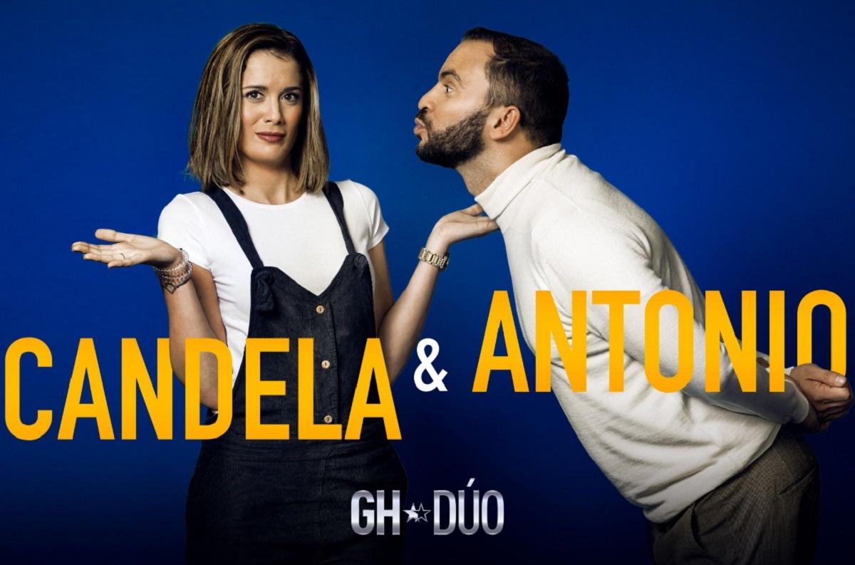 Antonio Tejado y Candela Acevedo, segunda pareja confirmada de GH Dúo