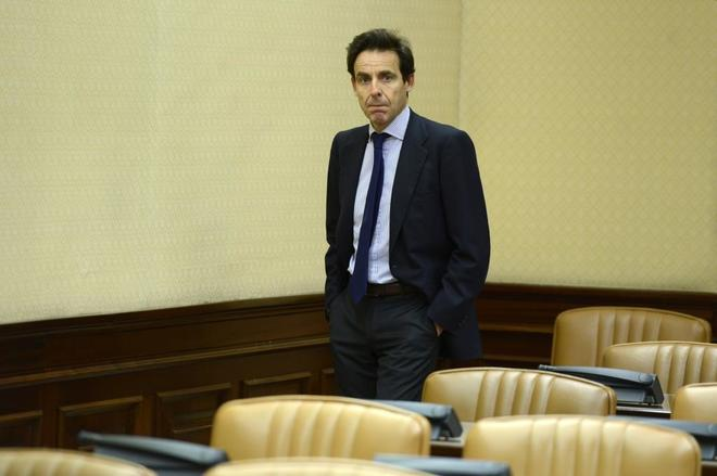 El empresario Francisco Javier López Madrid, en una comparecencia en el Congreso por la financiación del PP.