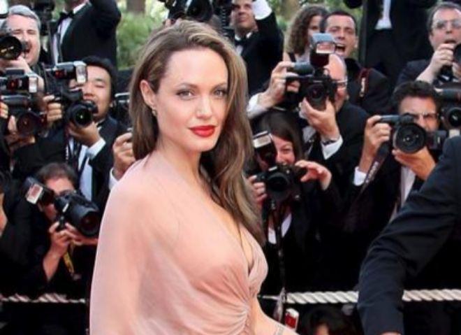 Angelina Jolie, en el Festival de Cine de Cannes (Francia).