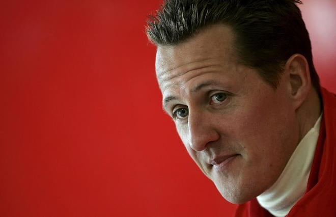 Michael Schumacher, durante su etapa como piloto de Ferrari.