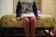 Una joven que ha sufrido abusos sexuales de pequeña en el País Vasco.