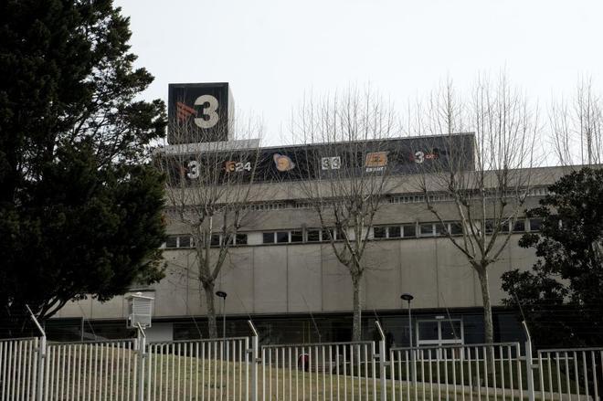 Fachada de los estudios de TV3 en Sant Joan Despi