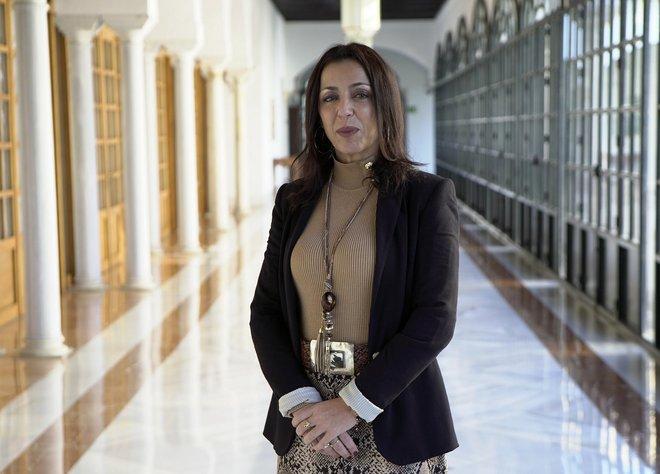 Marta Bosquet, la nueva presidenta del Parlamento andaluz.