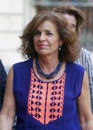 La ex alcaldesa de Madrid Ana Botella.