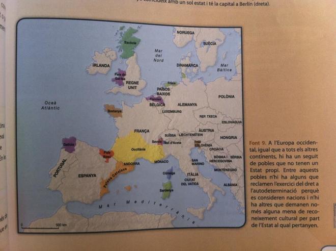 Imagen extraida del informe 'Instrumentalización nacionalista del...