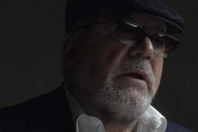 El ex comisario José Manuel Villarejo, durante su entrevista con...