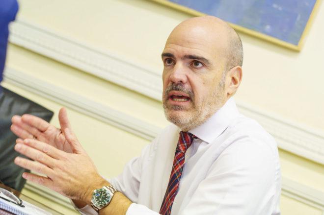 El secretario de Estado de Función Pública, José Antonio Benedicto.