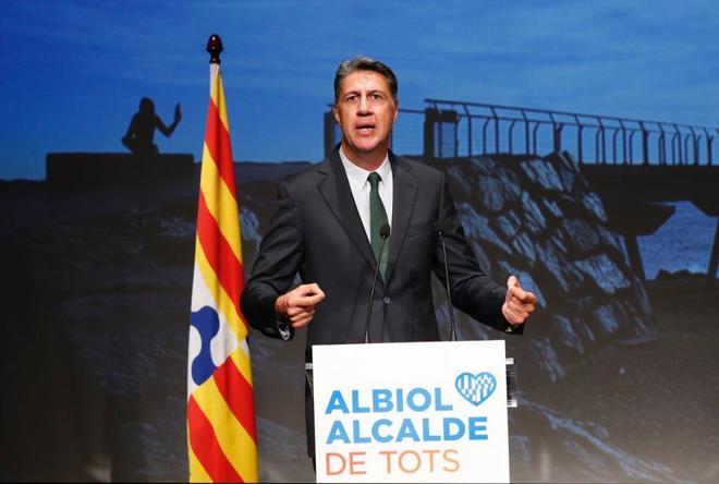 Xavier García Albiol presentó su proyecto para las próximas elecciones municipales en Badalona en septiembre pasado.