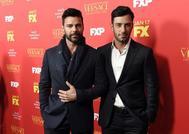 El cantante puertorriqueño Ricky Martin y su marido Jwan Yosef.