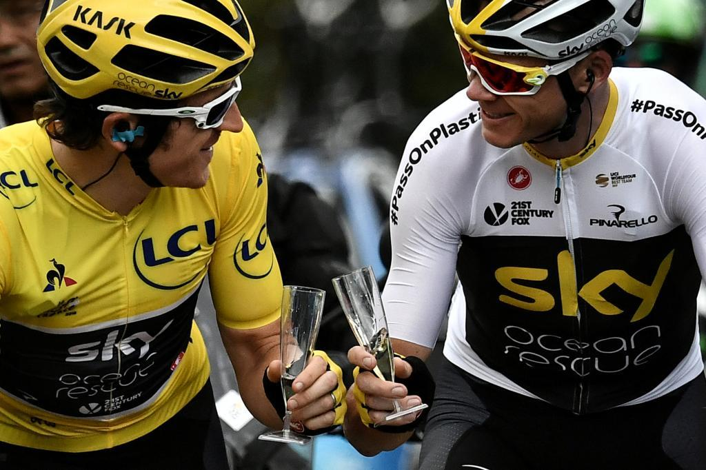 Froome y Thomas renuncian al Giro para centrar todo su esfuerzo en el duelo por el Tour