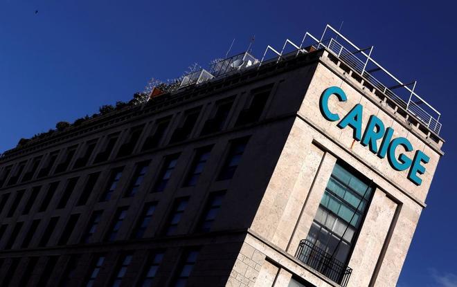 Sede de la Banca Carige en Roma.