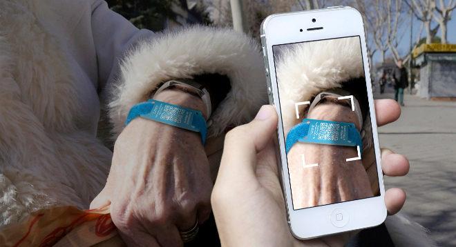 Un dispositivo de localización por GPS para enfermos de Alzheimer.