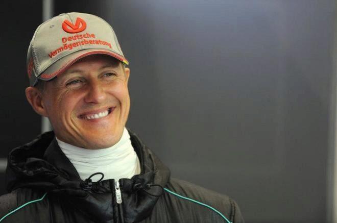 Schumacher, en una de sus últimas apariciones públicas.