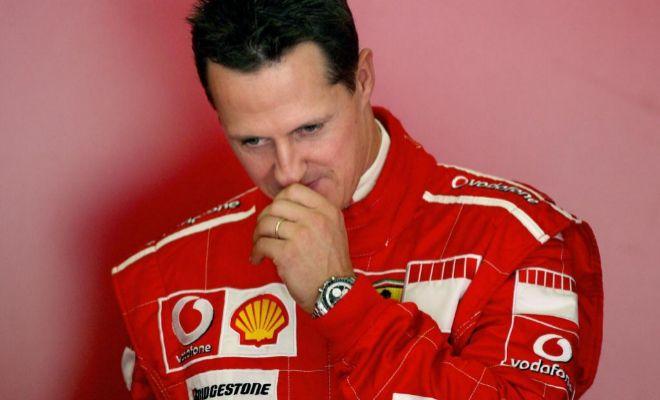 Schumacher, con los colores de Ferrari, en una imagen de octubre de 2006.