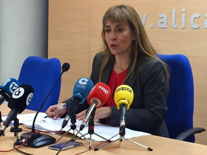 La vicesecretaría de Residentes Europeos, Sofía Álvarez.