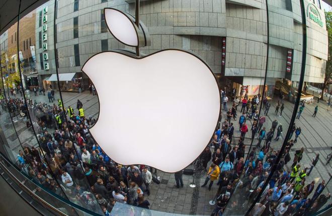Una sede de la empresa Apple.