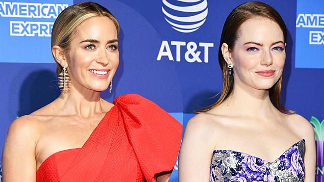 Emily Blunt y Emma Stone en el Festival de Palm Springs