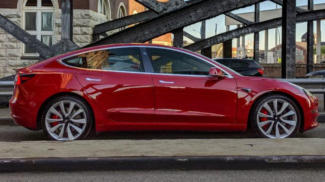 Una unidad de Tesla Model 3.