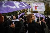 Manifestación contra la violencia de género el pasado 25 de...