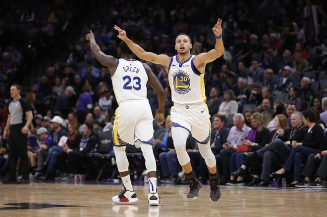 c966c41a9 NBA  Warriors y Kings baten el récord histórico de triples en un ...