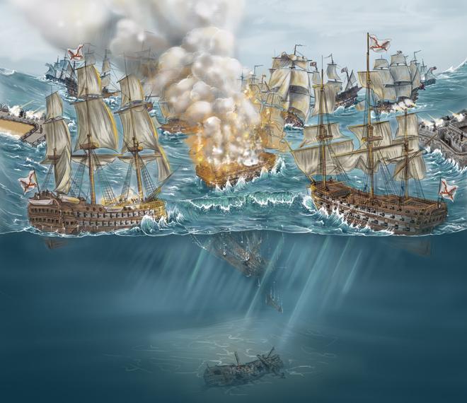 La leyenda del barco perdido de Blas de Lezo, el héroe tuerto, manco y cojo que venció a Inglaterra
